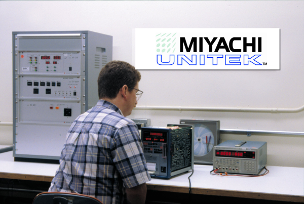 Spot Welding Equipment Calibration - Miyachi Unitek Lab