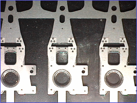 galvo welded disk drive armatures